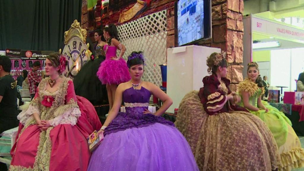 Mexický festival v duchu Quinceañera