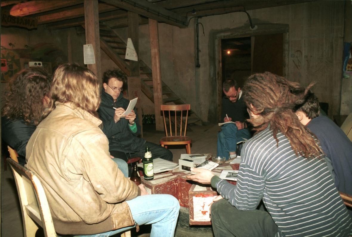 Squat Ladronka - březen 1994