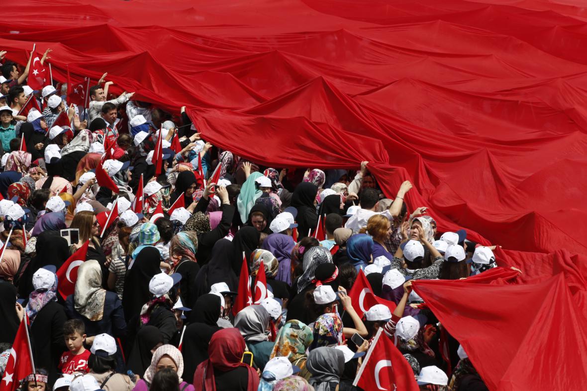 Erdoganova kampaň