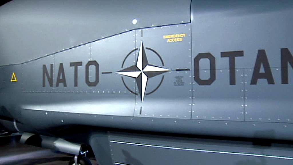 Dron Global Hawk pro Severoatlantickou alianci
