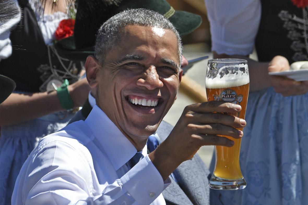 Obama si Bavorsko užívá