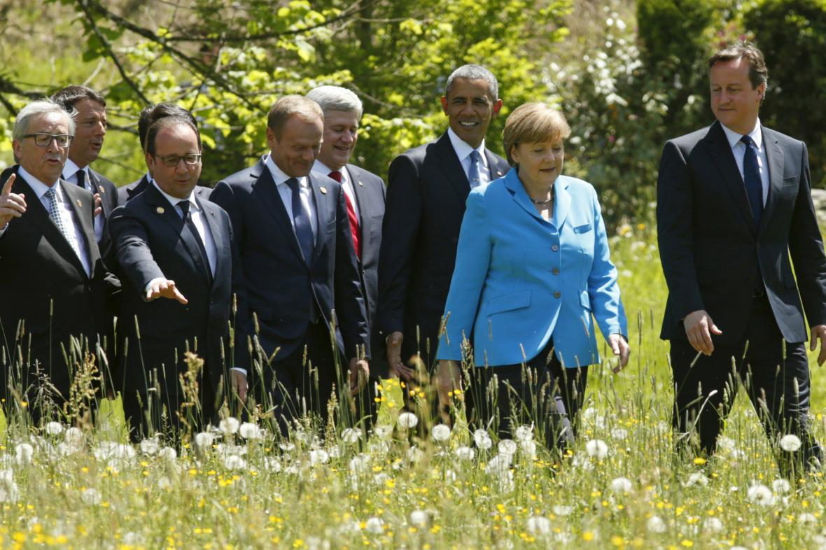 Účastnící summitu G7