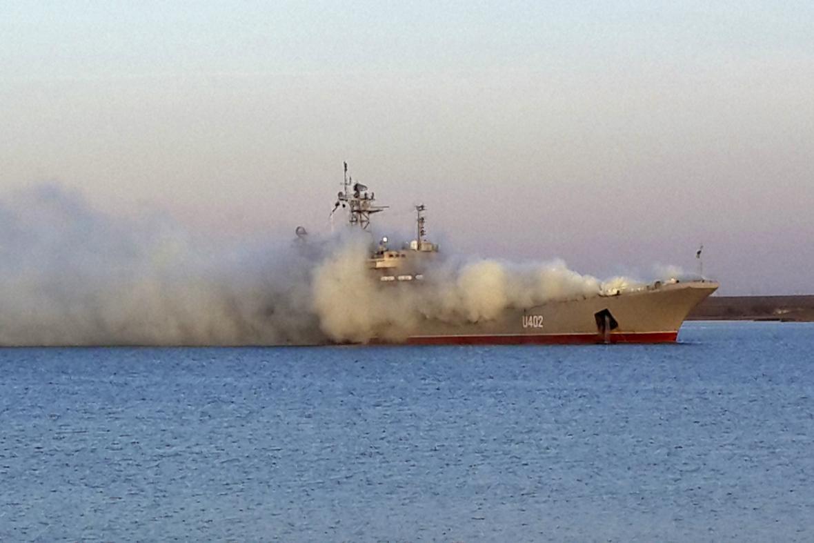 Ukrajinské plavidlo Konstantin Olšansky