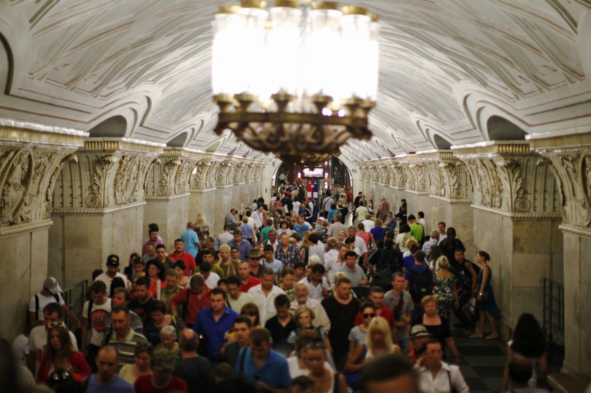 Moskevské metro