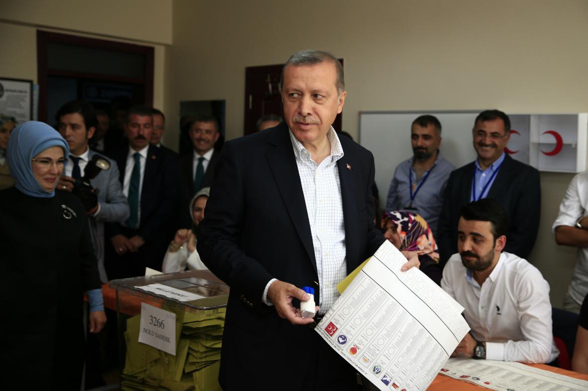 Recep Tayyip Erdogan u voleb