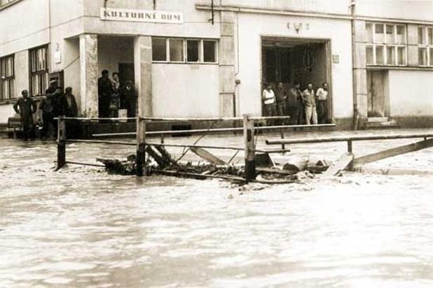 Velká voda v Šardicích
