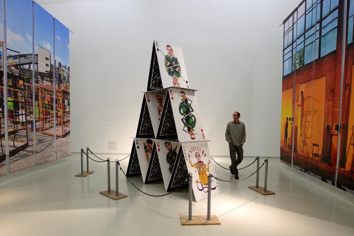 Výstava Kultura a konflikt: Izolyatsia v exilu