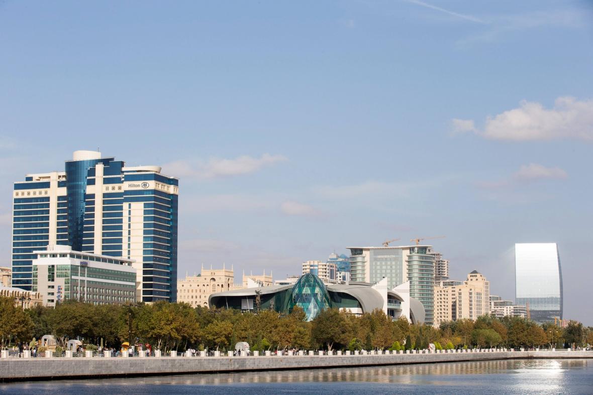 Ázerbajdžánská metropole Baku