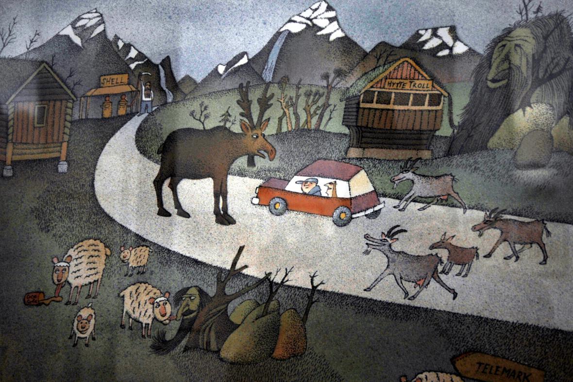 Adolf Born / Putování Norskem, 2001