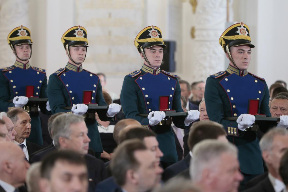 Předávání ruských státních vyznamenání