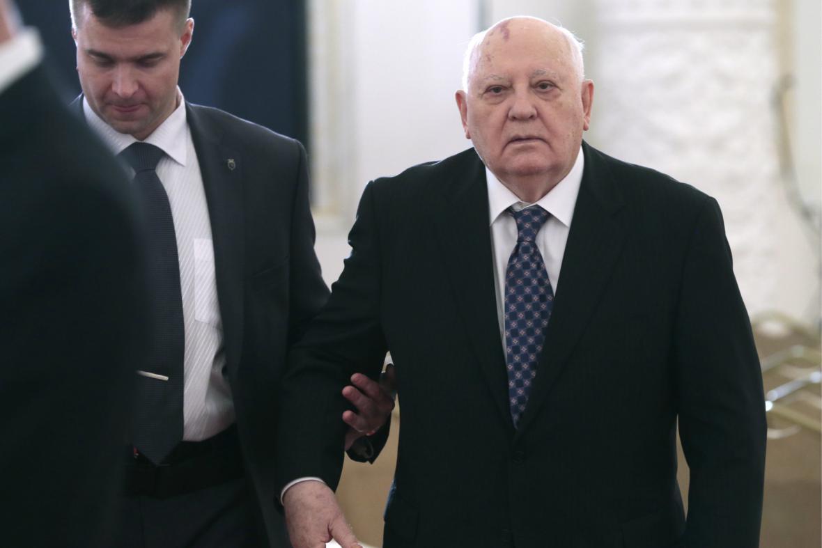 Oslav Dne Ruska se účastnil i Michail Gorbačov