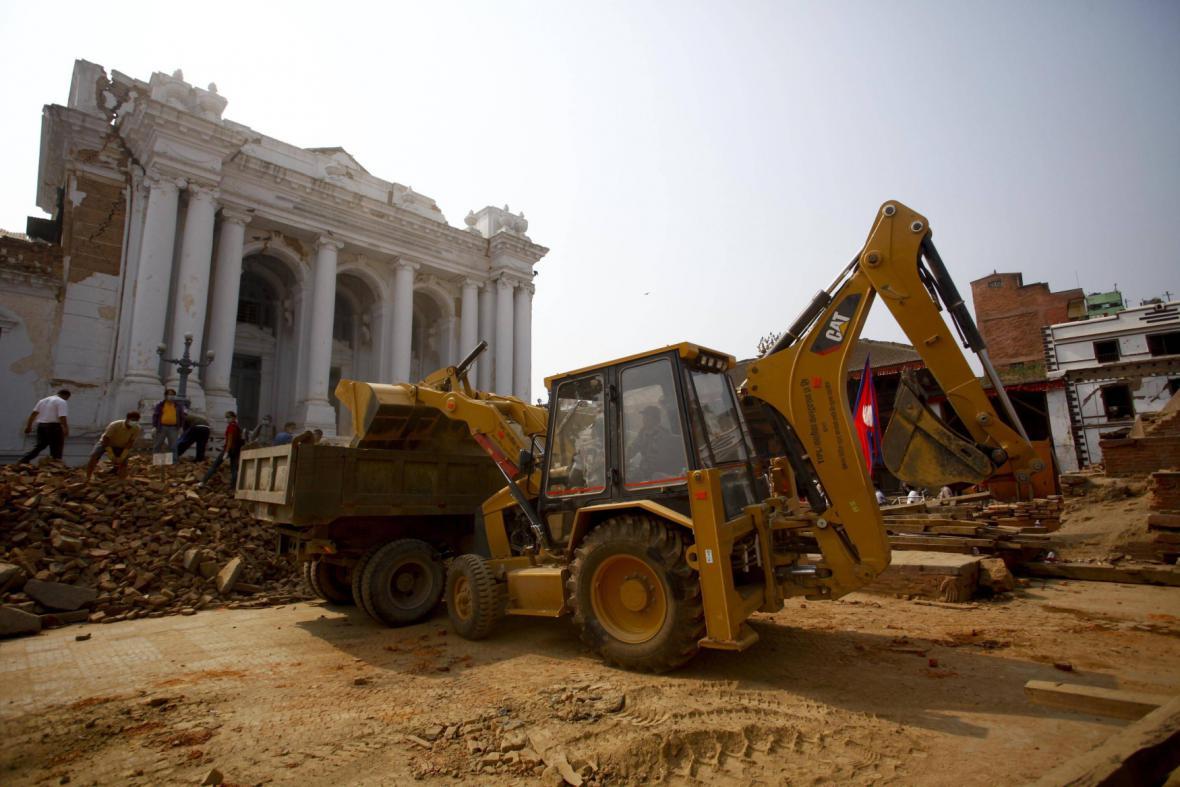 Nepálské památky
