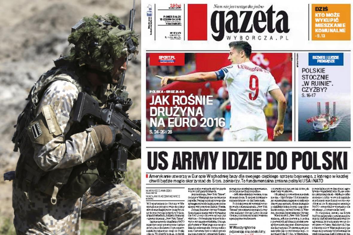 Gazeta Wyborcza k plánům NATO