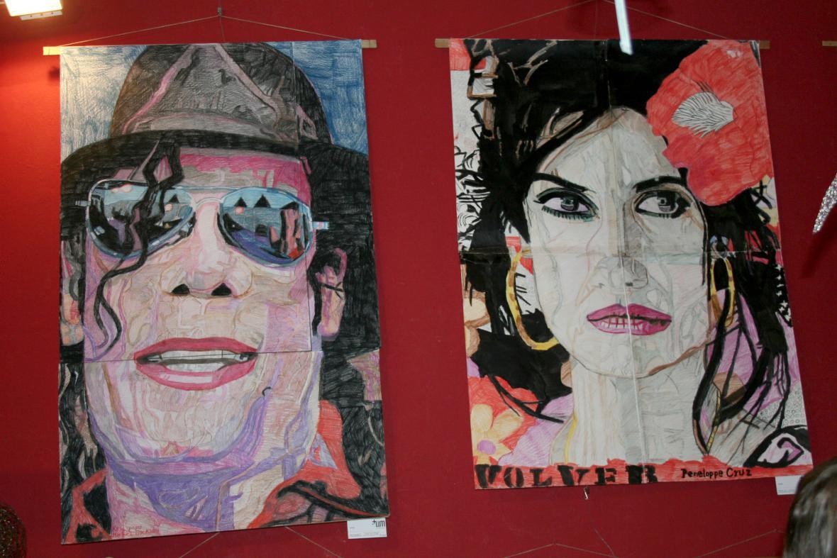 Michael Jackson a Penelope Cruzeová