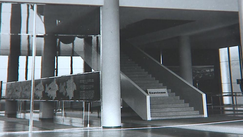 Dům umění ve Zlíně později zohyzdily socialistické přístavby
