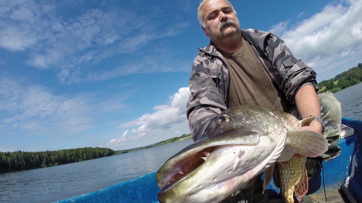 Ladislav Regál si splnil rybářský sen - ulovil štiku