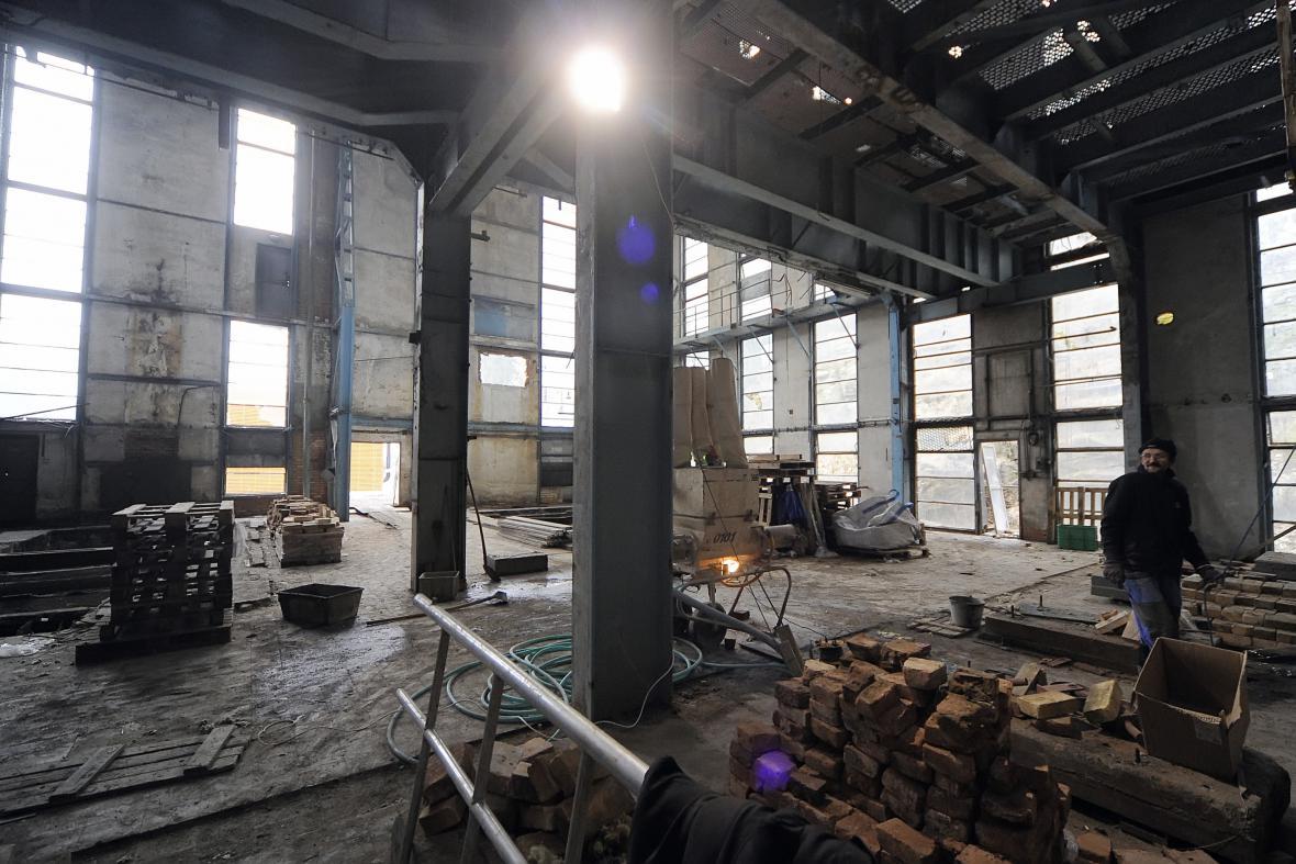 Bývalá tovární kotelna v areálu BOPO