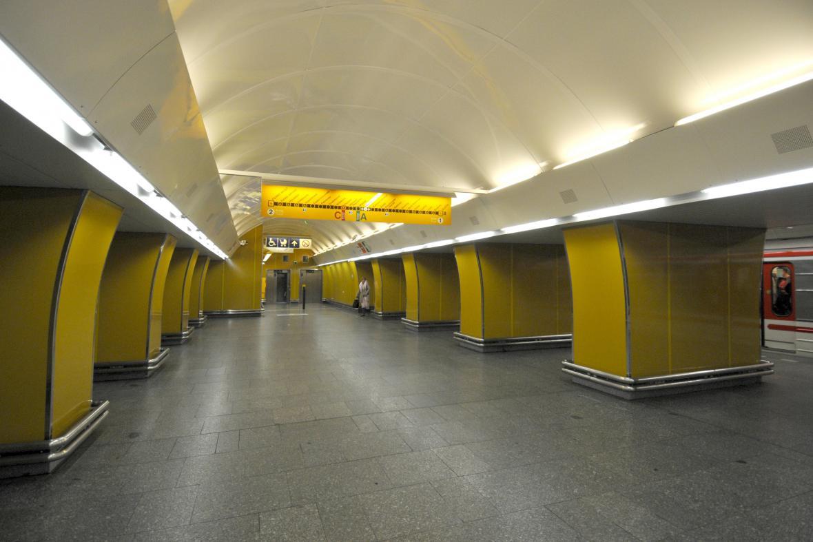 Rekonstrukce stanice metra Národní třída