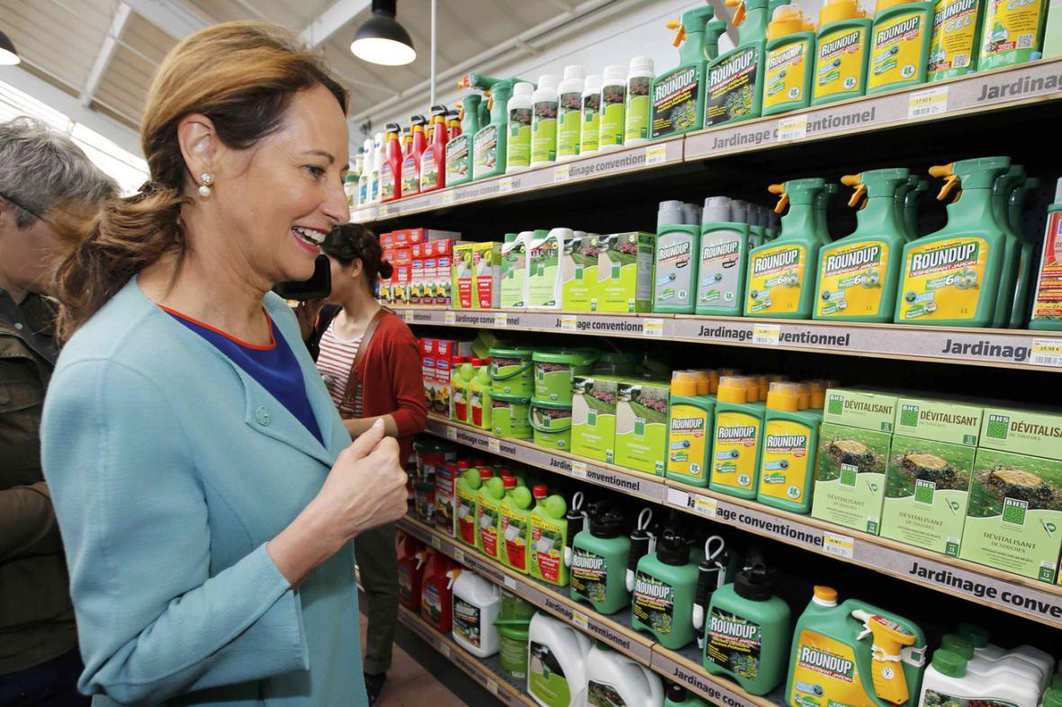 Ségolene Royalová se angažuje i v boji proti pesticidům