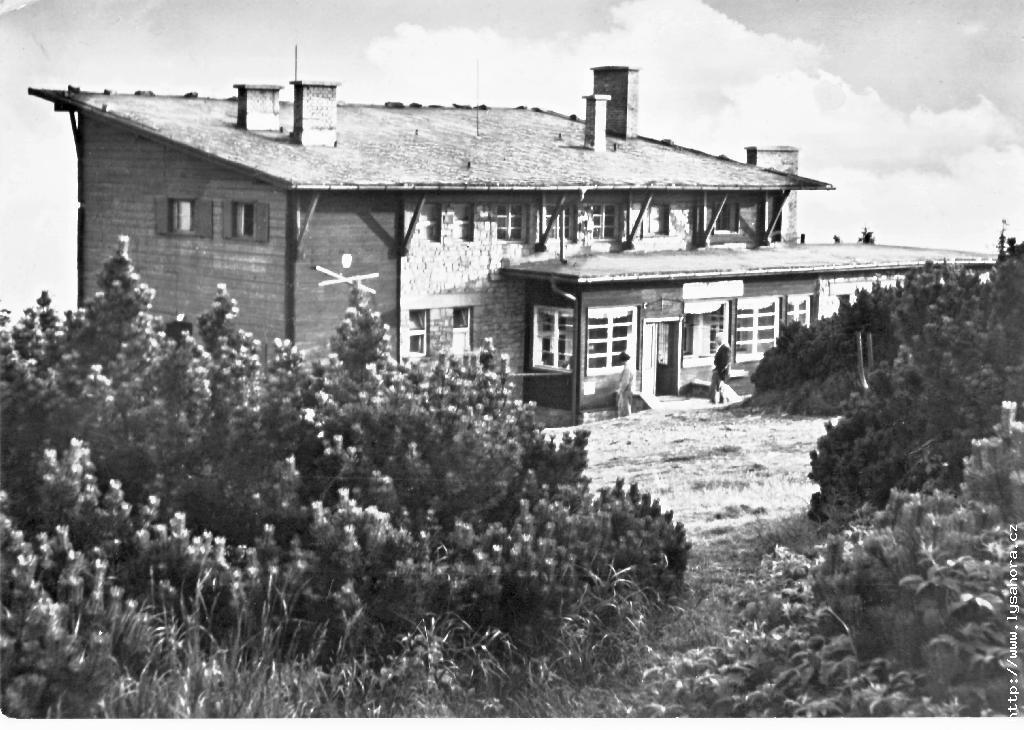 Původní Bezručova chata