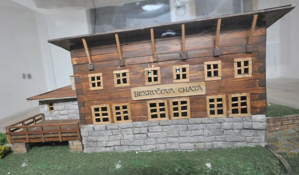 Replika Bezručovy chaty