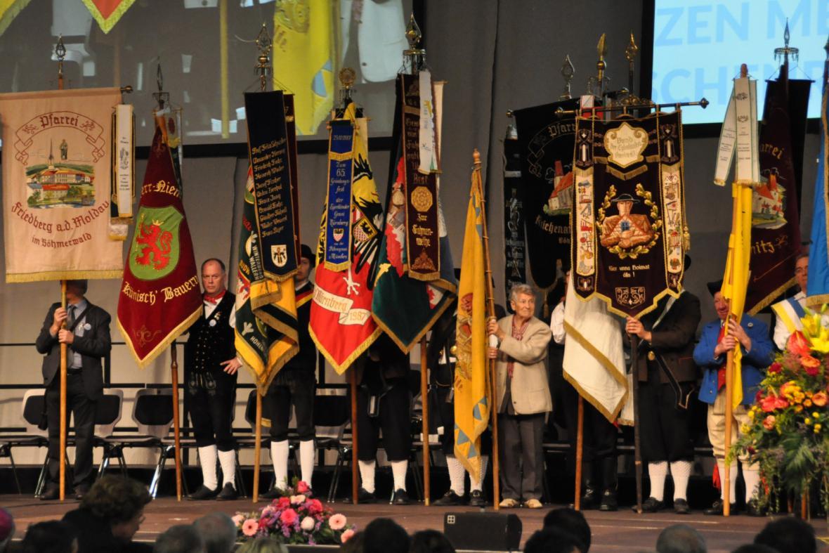 66. sjezd sudetských Němců v Augsburgu