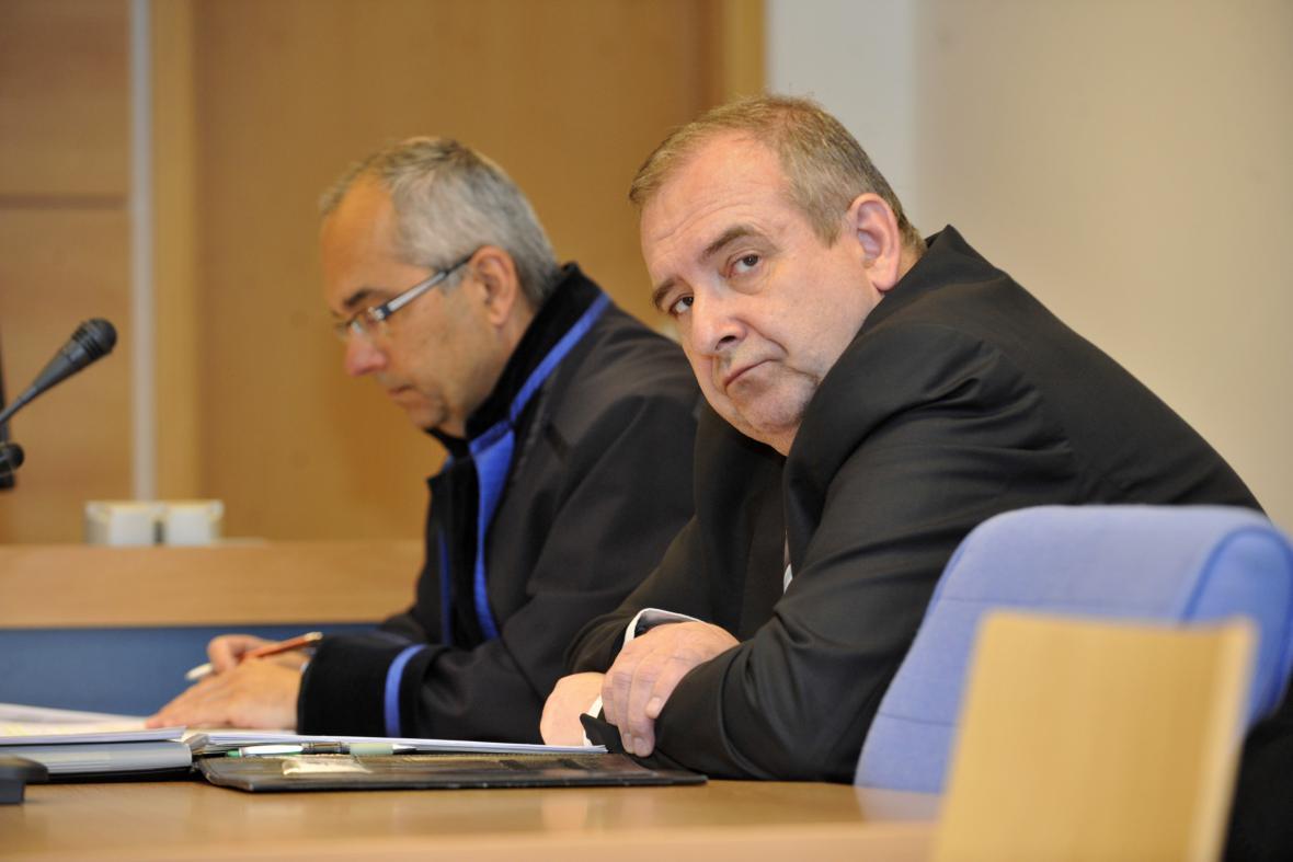 Jiří Plášek u soudu