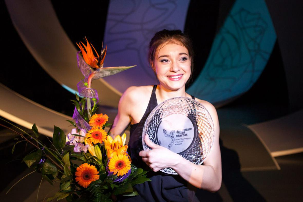 Viktoria Nowaková - vítězka Eurovision Young Dancers 2015