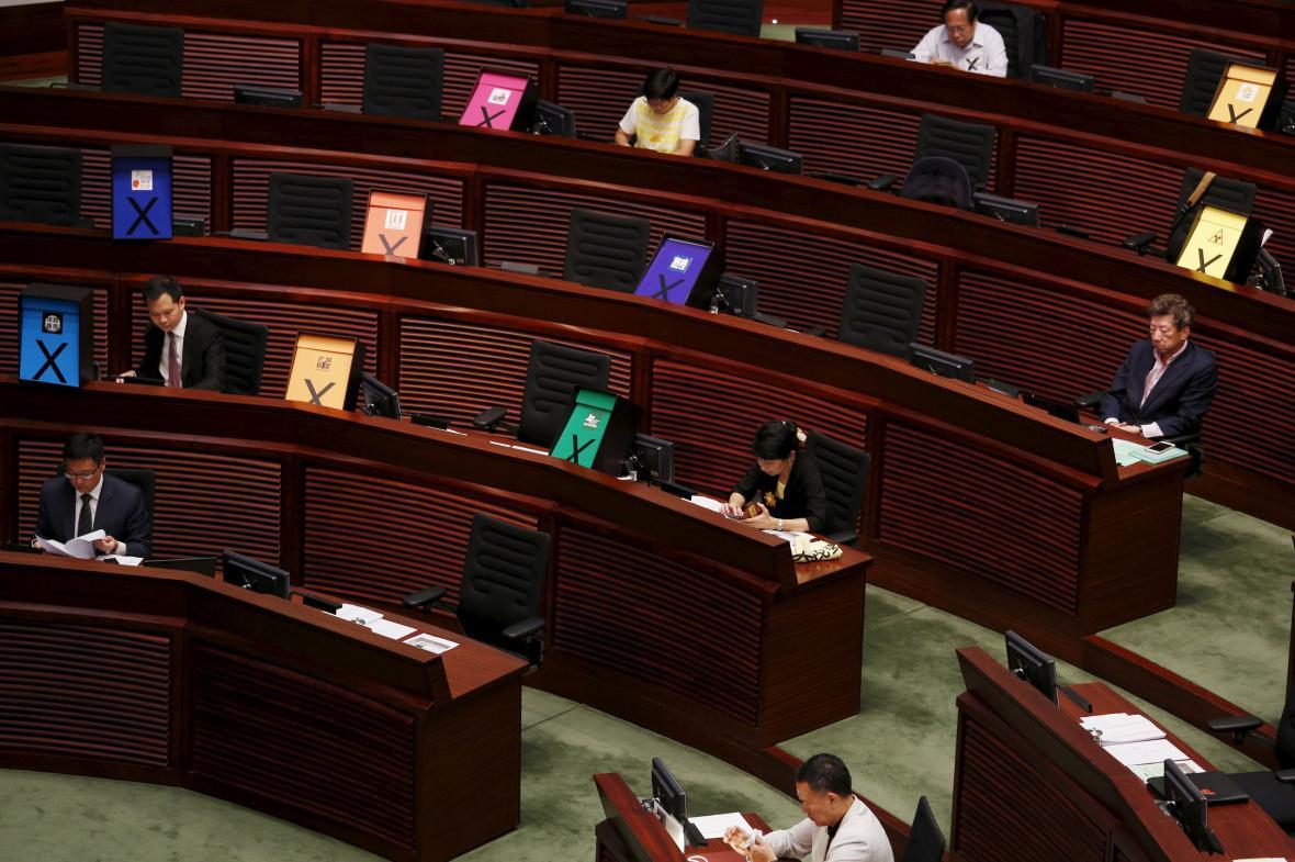 Prodemokratické protesty v Hongkongu