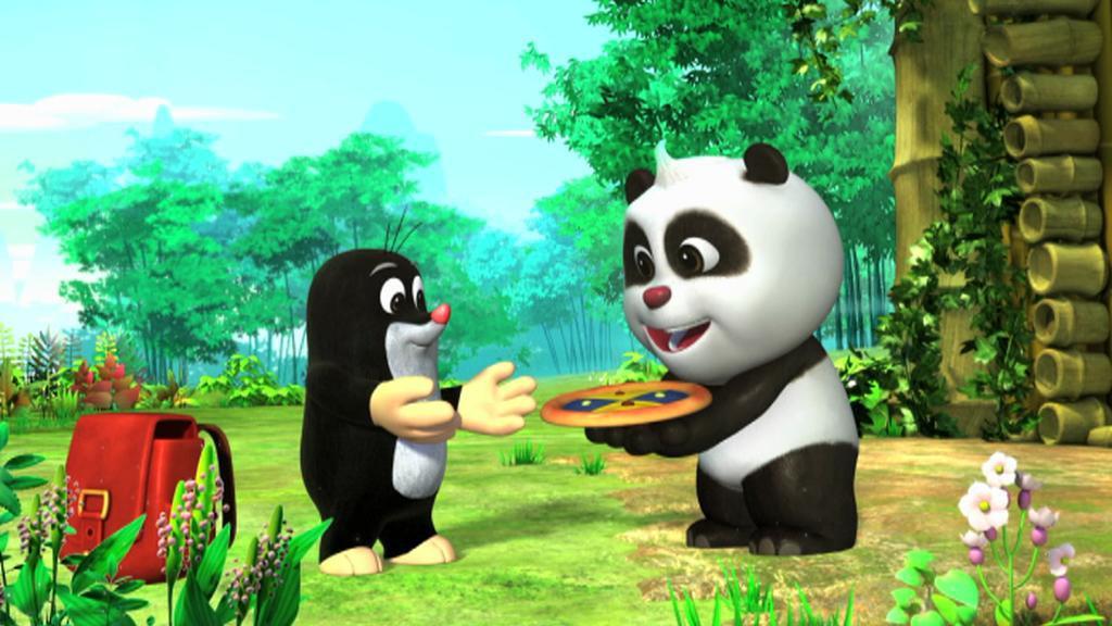 Nový seriál o Krtkovi a Pandě