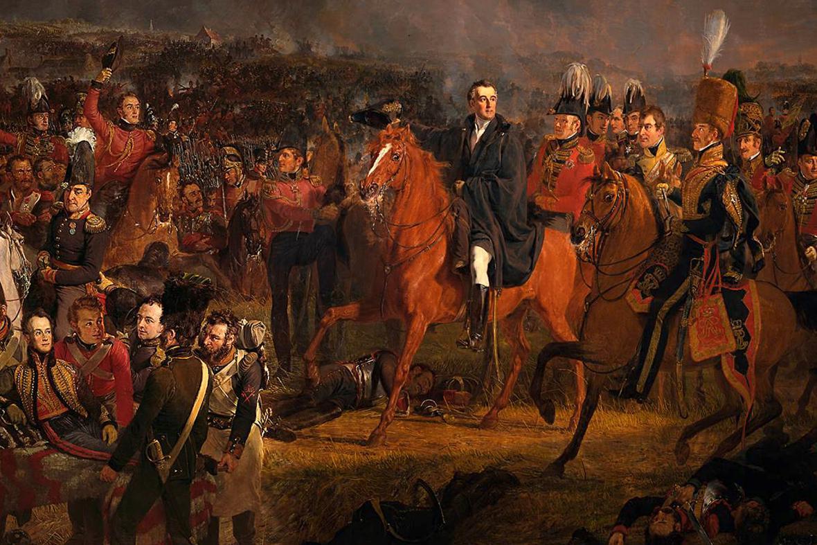 Jan Willem Pieneman: Bitva u Waterloo (1824)