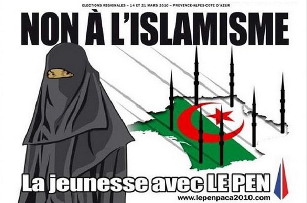 Plakát Národní fronty z roku 2010