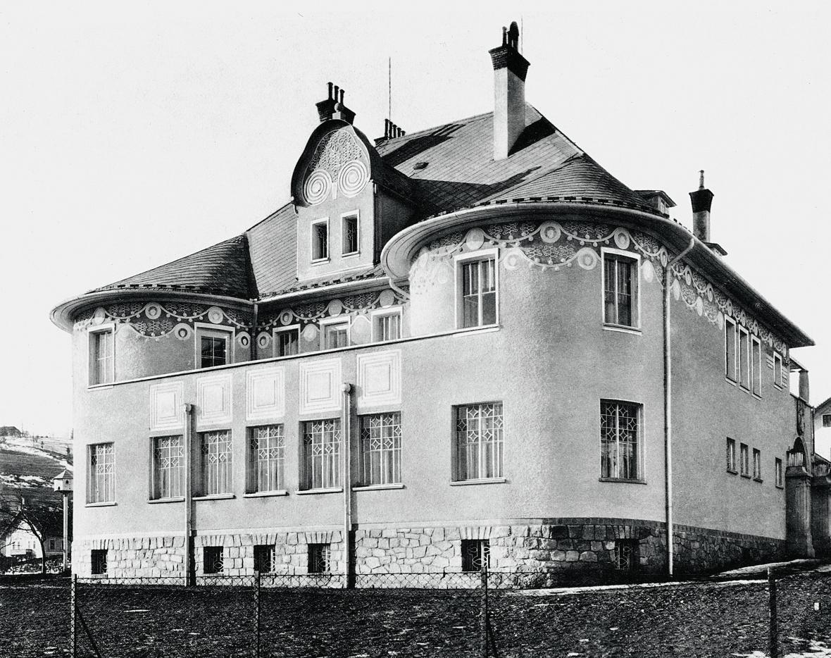 Vila Rudolfa Kralika ve Vímperku