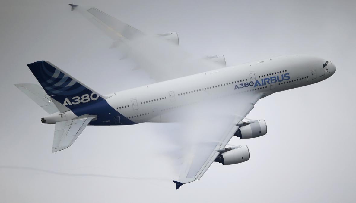 Veletrh letecké techniky Le Bourget 2015
