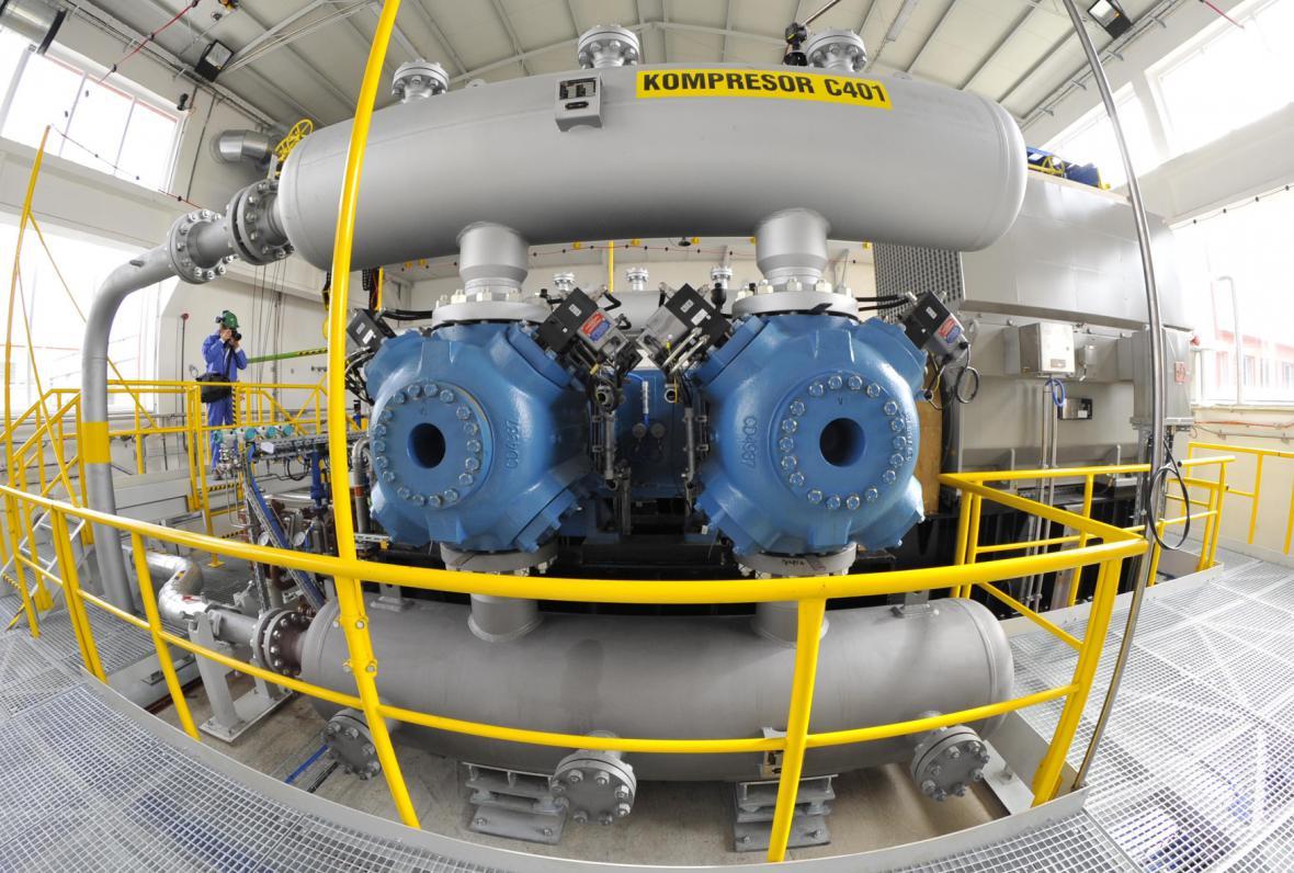 Podzemní zásobník plynu Lobodice
