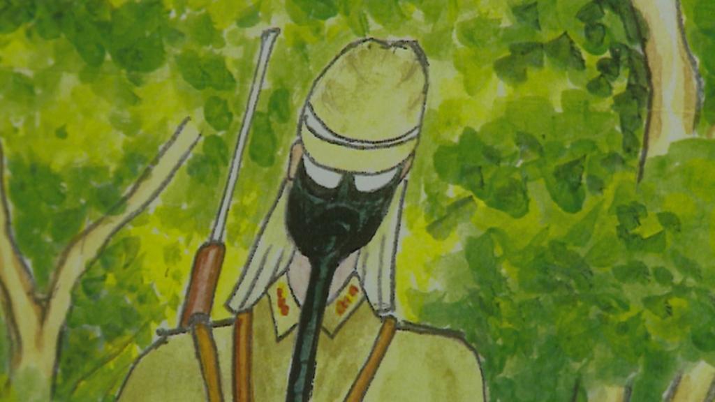 Kresby Jasunobua Óšira z Okinawy