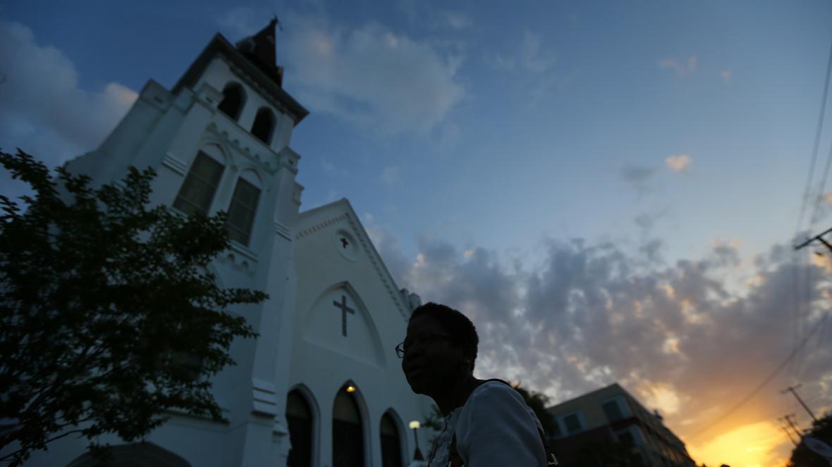 V kostele v Charlestonu se konala první mše po střelbě