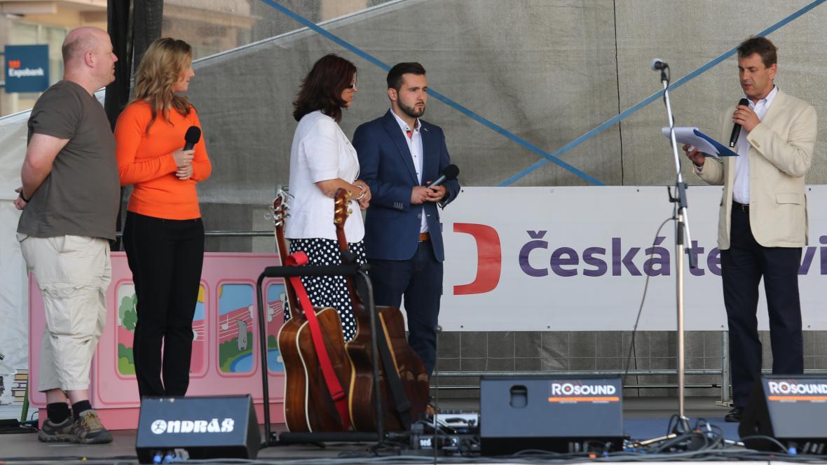 ČT Brno na náměstí Svobody