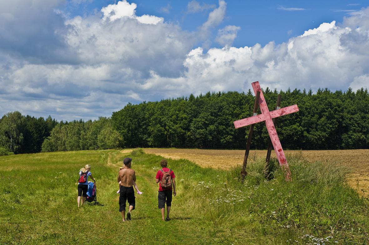 Karel Cudlín / Pomník obětem masakru německy mluvících obyvatel z Dobronína, 2012