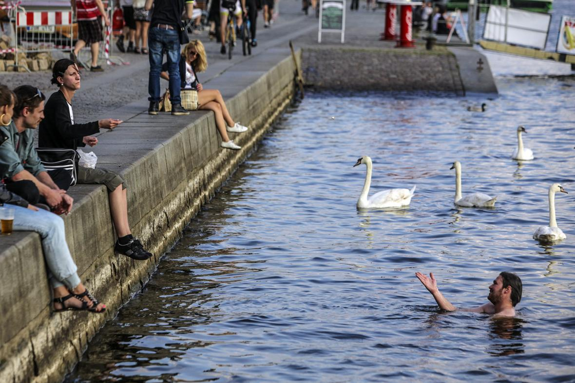 Život na pražských náplavkách