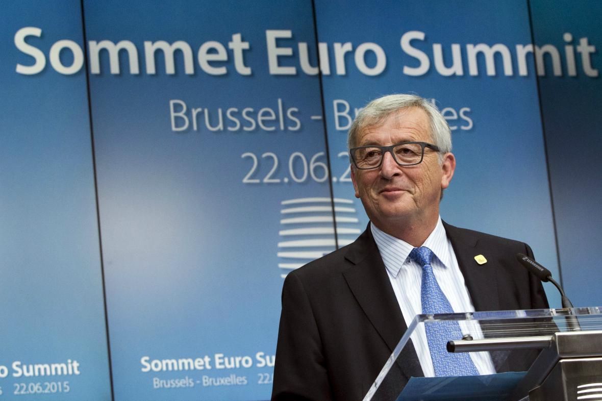 Jean-Claude Juncker po dalším kole jednání o Řecku