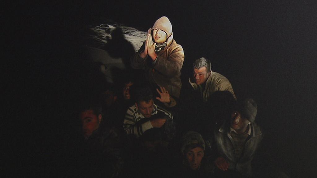 Z výstavy Migrantská Odyssea