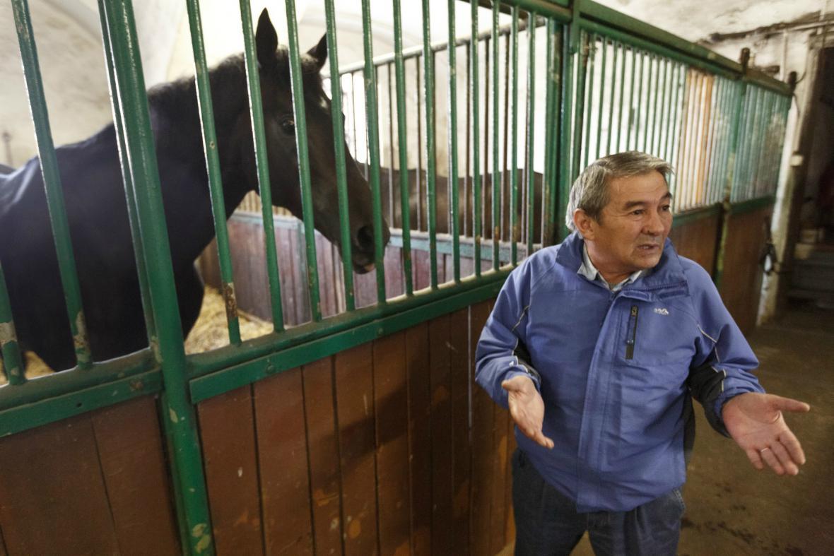 Kadyrovovy koně má v Česku v péči Arslangirej Šavujev