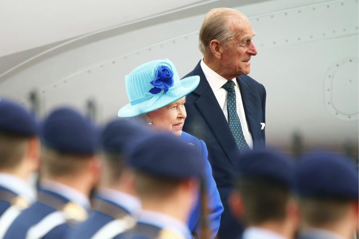Královna na své páté návštěvě Německa