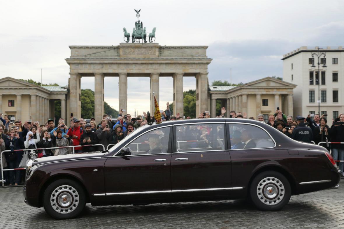 Alžběta II. v Berlíně