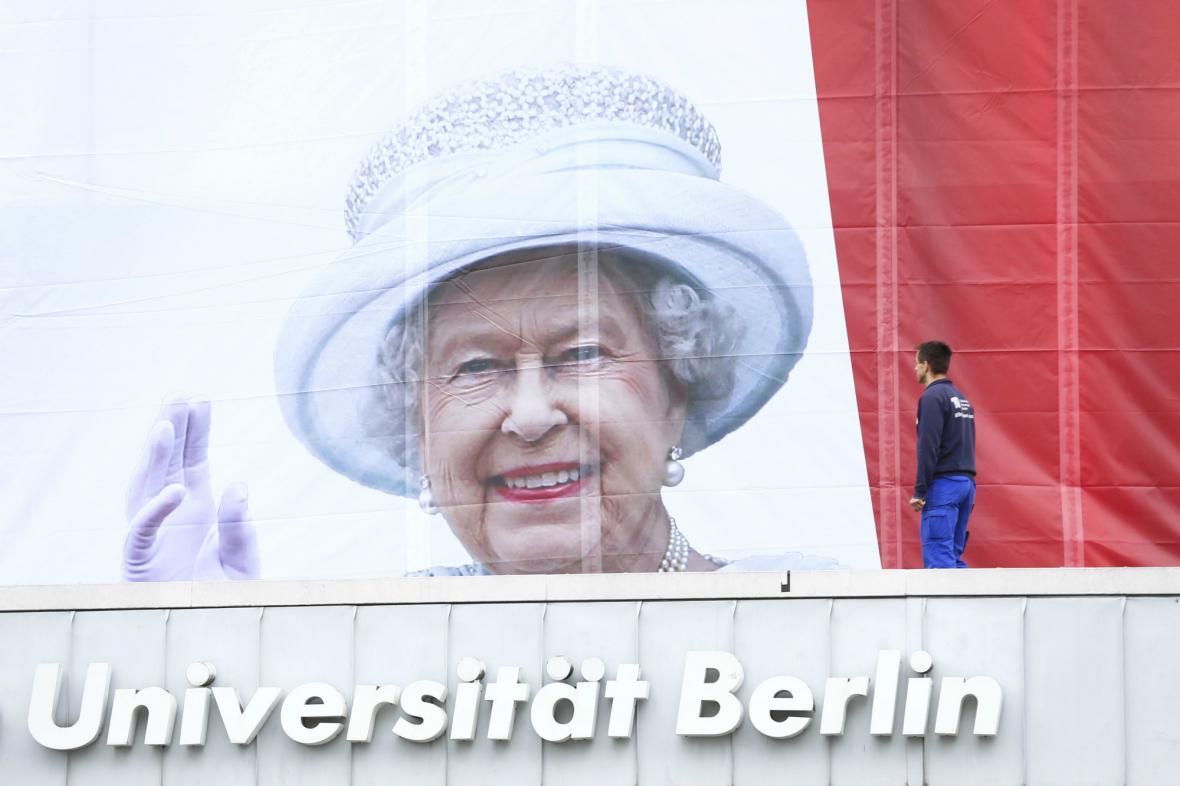 Německo se připravuje na příjezd Alžběty II.