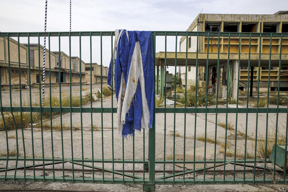 Zkrachovalý řecký průmysl