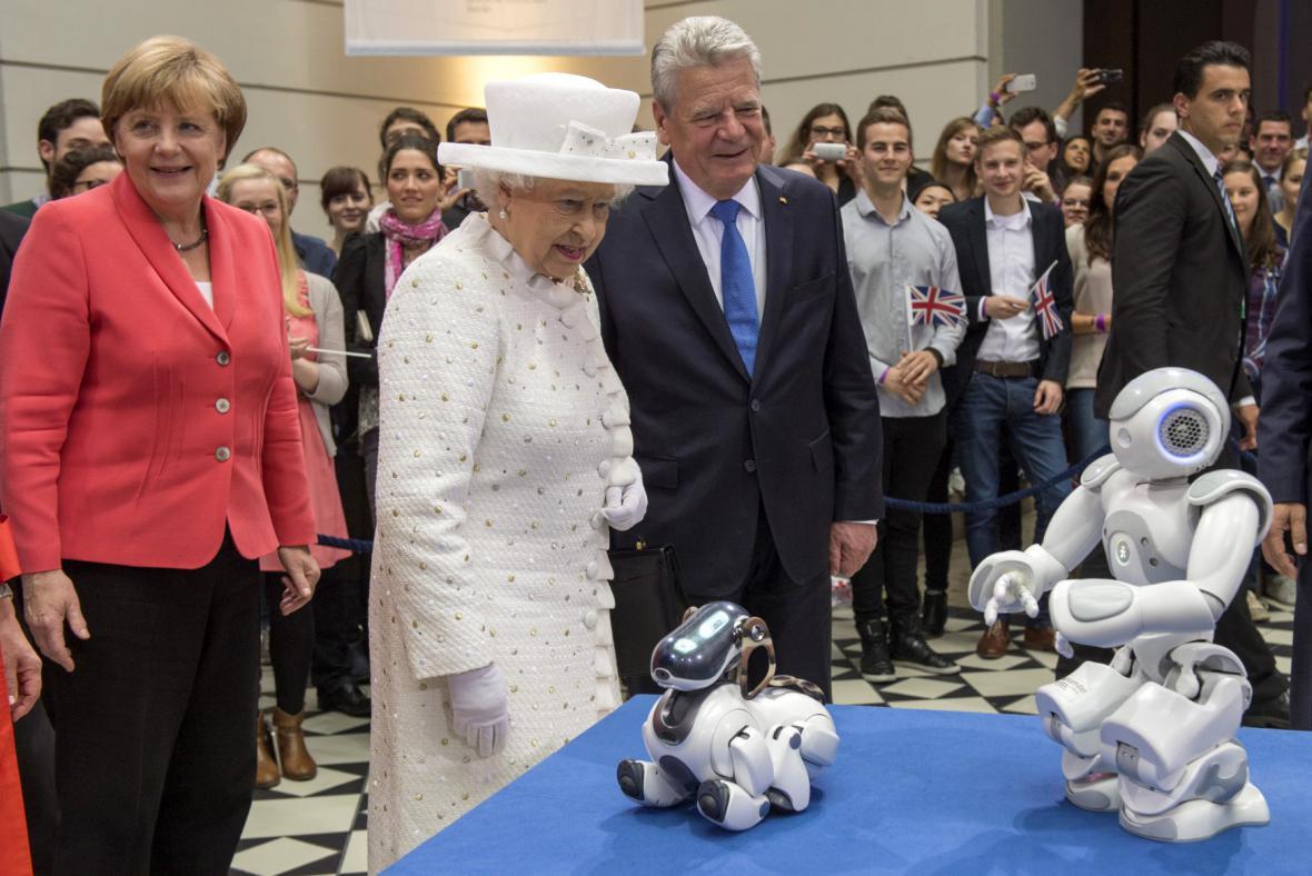 Alžběta II. na návštěvě Německa