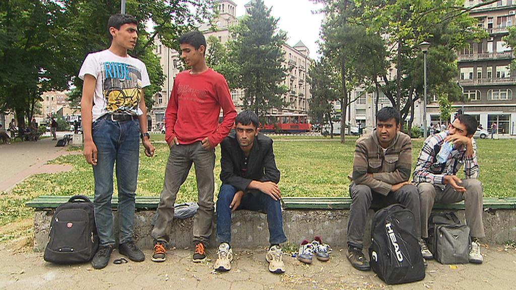 Uprchlíci v Bělehradě