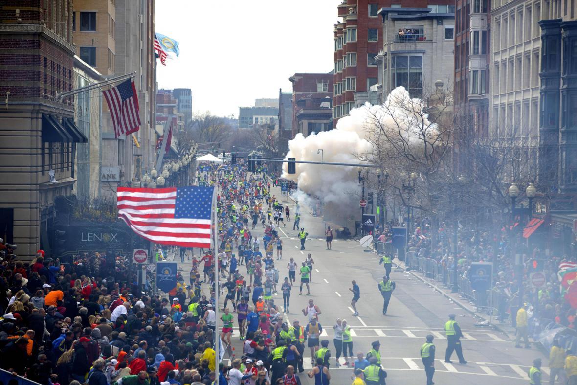 Atentát v Bostonu
